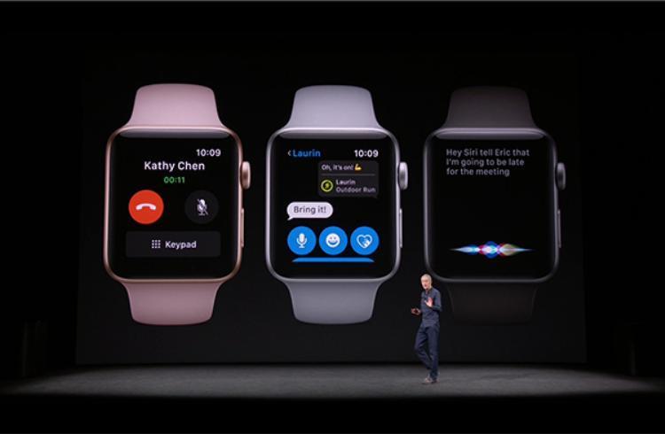 Siri trên Apple Watch Series 3 thông minh hơn.