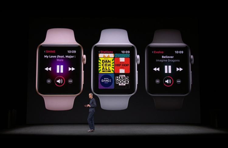 Phần mềm nghe nhạc tuyệt đỉnh trên thế hệ Apple Watch mới.