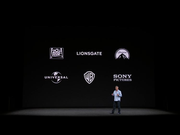Hàng loạt các hãng phim tên tuổi đều hỗ trợ nội dung với chất lượng 4K trên Apple TV.