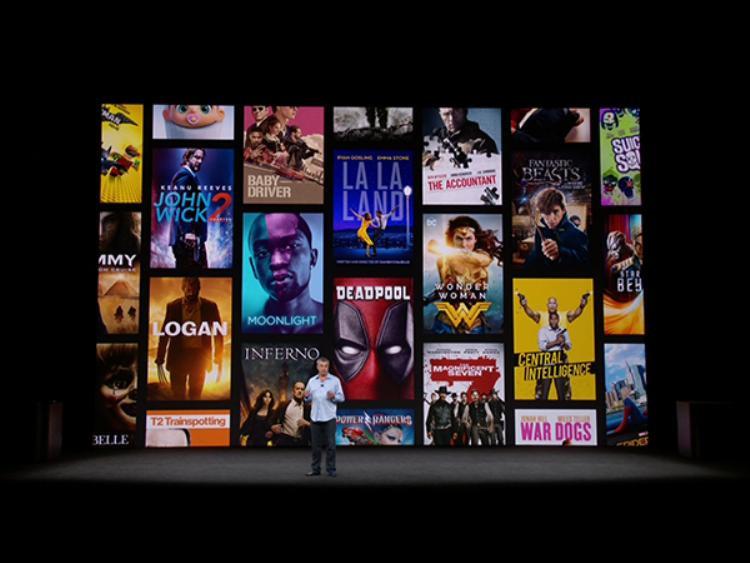 Kho phim hấp dẫn với nội dung 4K được đưa lên Apple TV (2017).