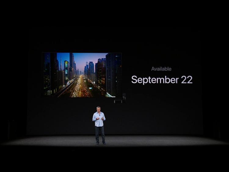 Ngày mở bán Apple TV trùng với ngày mở bán Apple Watch Series 3 là 22/9