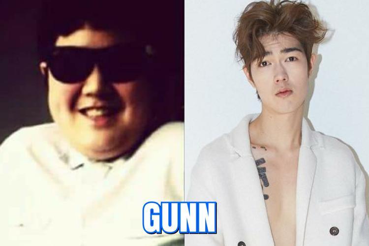 Gunn -team Peach nỗ lực giảm béo để theo đuổi nghề mẫu tại Hàn Quốc.
