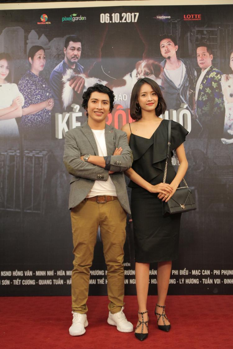 Trương Mỹ Nhân và đạo diễn Ngụy Minh Khang.