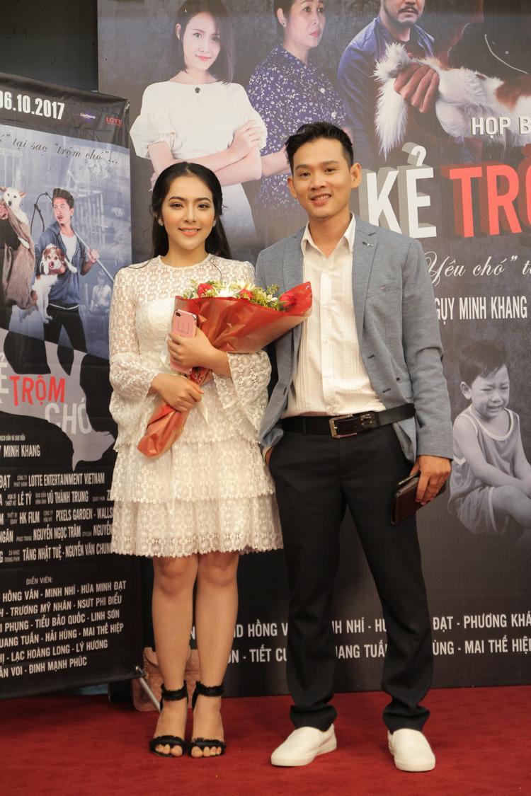 Nữ diễn viên Phương Khánh.