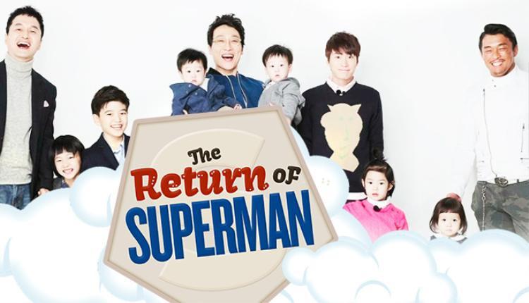Những ông bố và nhóc tì quốc dân của The Return of Superman.