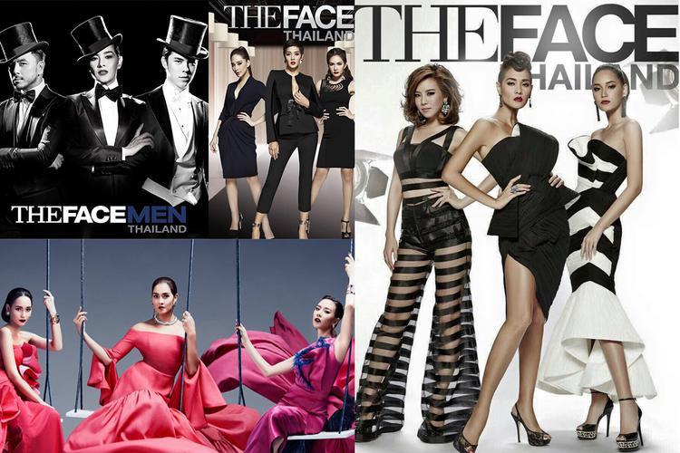 The Face Thailand đã có 3 mùa lừng lẫy cùng với các phiên bản biến tấu The Look, The Face Men.