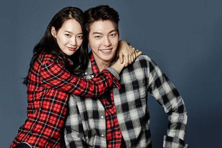 Shin Min Ah và Kim Woo Bin.