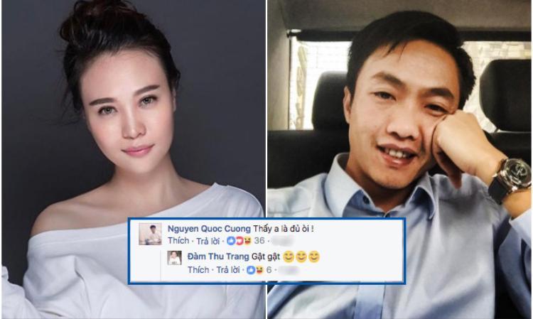 Đàm Thu Trang được cho là tình mới của Cường Đô La sau Hạ Vi.