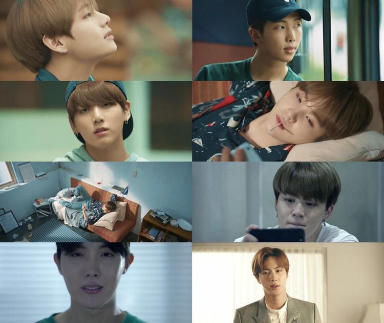 Đột nhập phòng ngủ của V cùng BTS trong teaser Comeback Show  BTS DNA