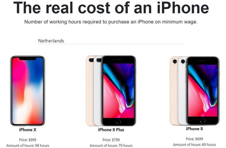 Bán chân tay hoặc làm việc 35 năm để mua iPhone X: Đâu là lựa chọn của bạn?