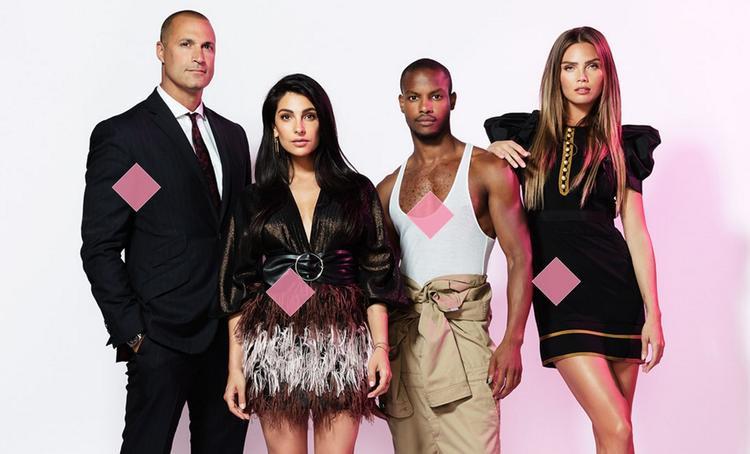 Dàn giám khảo mùa 10 từ trái sang:Nigel Barker,Anna Nooshin,Jean Paul Paula vàKim Feenstra.