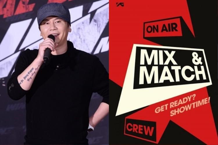 Bố Yang đã từng rất thành công với show Mix & Match.