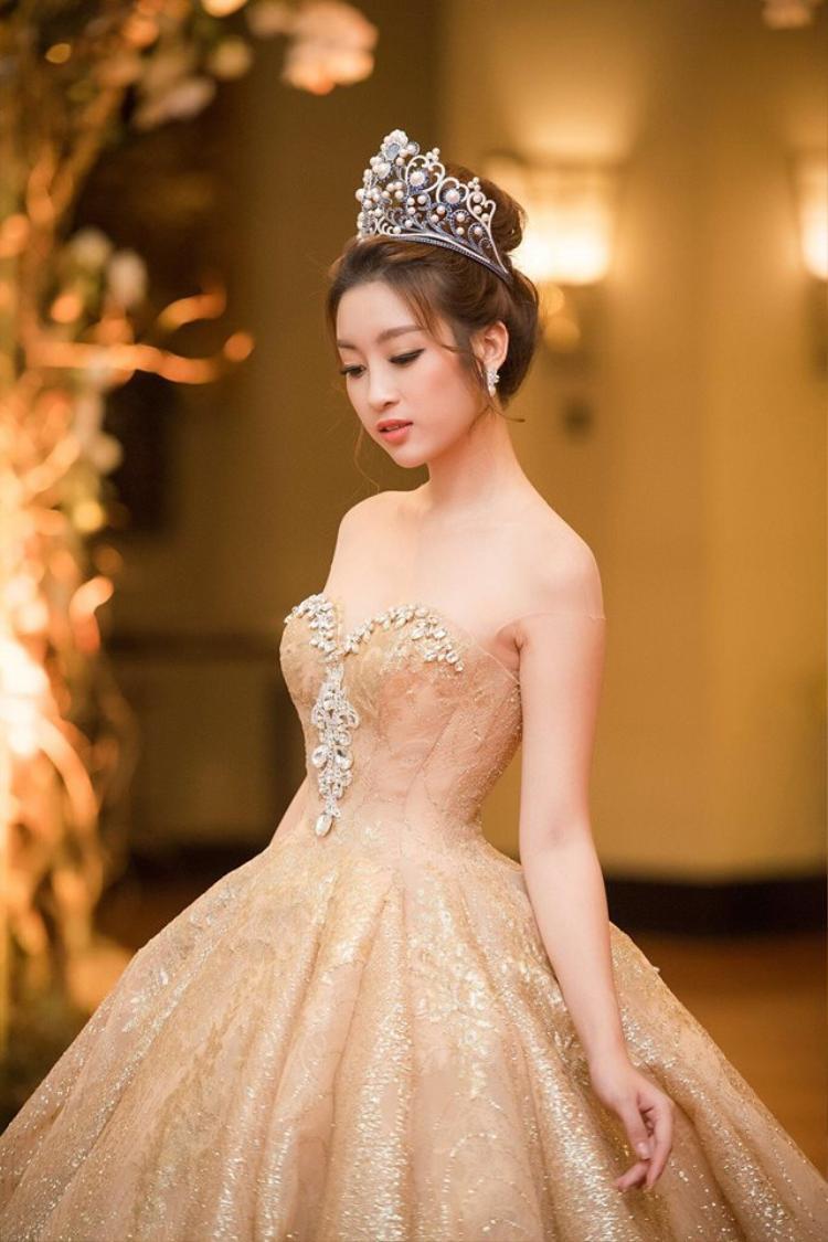 Hoa hậu Đỗ Mỹ Linh lọt top 6 vòng bình chọn online Miss World 2017