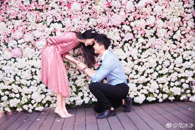 Phạm Băng Băng hạnh phúc khi được bạn trai Lý Thần cầu hôn.
