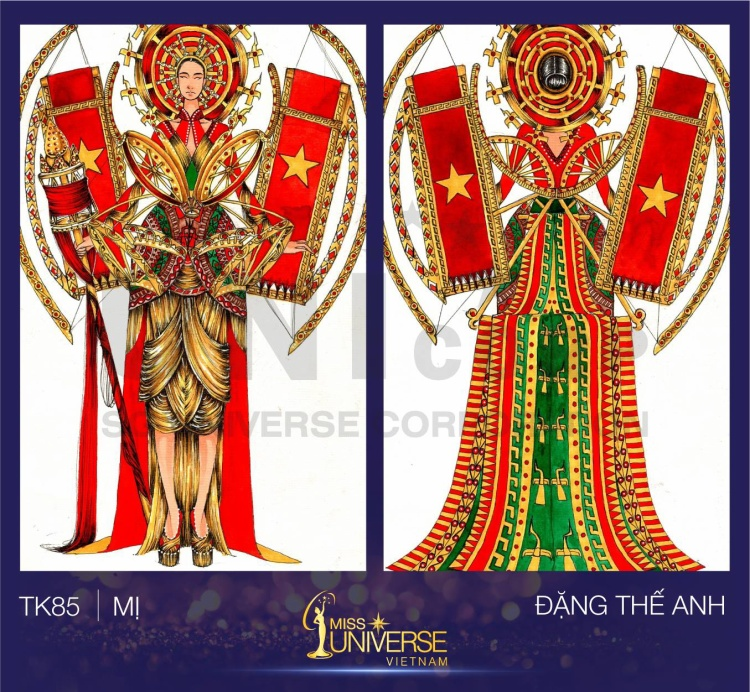Ý tưởng xuyên suốt của mẫu thiết kế chính là làng nghề truyền thống của Việt Nam - nghề dệt.