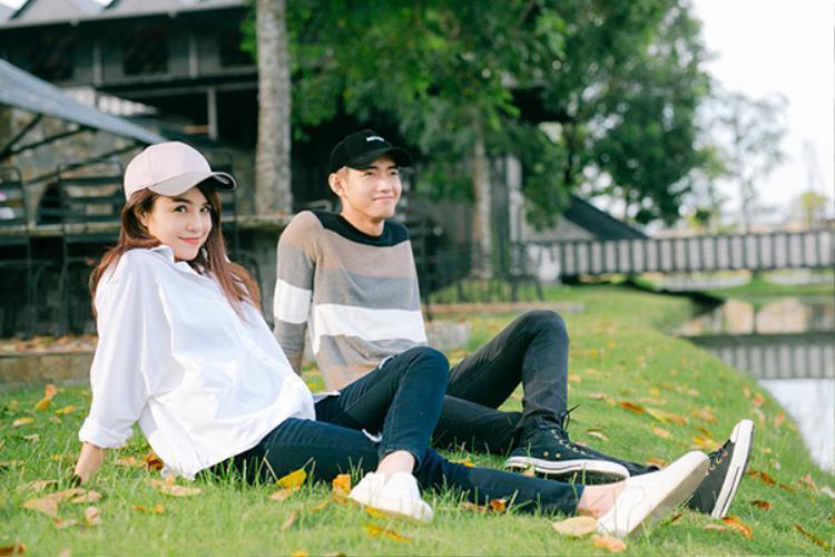 Quang Đăng và Thái Trinh được đánh giá là một trong những cặp đôi đẹp của showbiz.