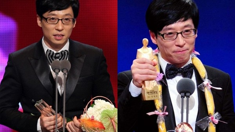 Yoo Jae Suk được xem là một tượng đài MC trong lòngmọi người dân Hàn Quốc.