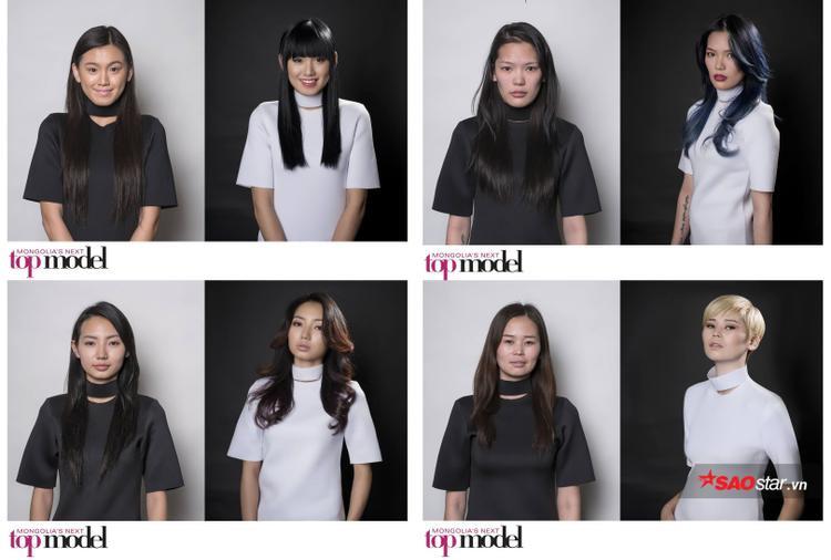 Đơn giản nhưng hiệu quả, Next Top Mông Cổ mùa 1 cũng tạo nên diện mạo mới đầy tính thời trang cho các thí sinh.