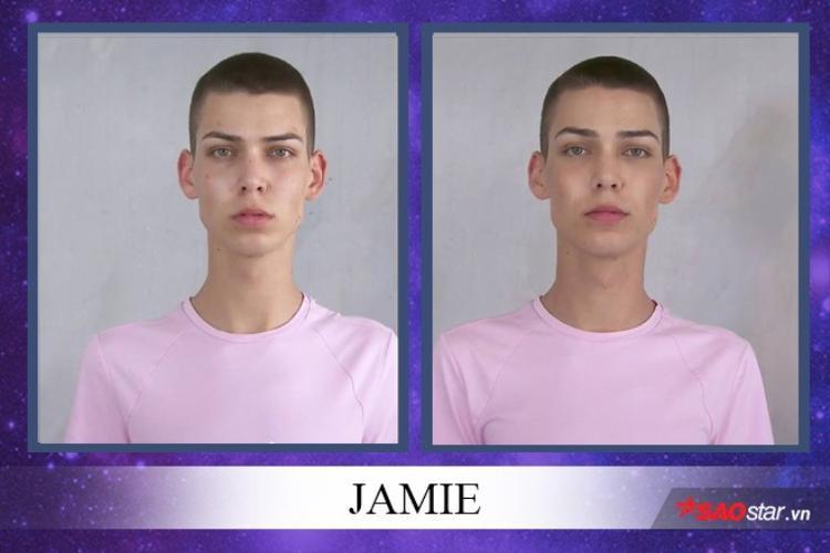 Mái tóc này của Jamie cũng là một thử thách dành cho các nhà tạo mẫu phải makeover.