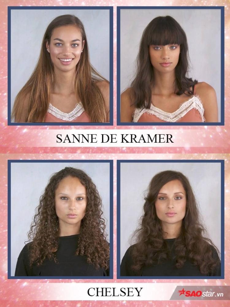 Sanne và Chelsey xinh xắn và thời trang hơn với ngoại hình mới.