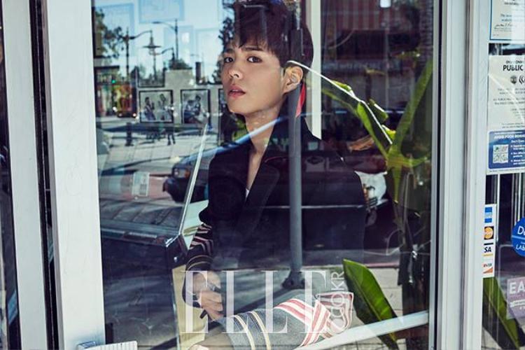 Park Go Bum diện Gucci, xuất hiện cực chất trên tạp chí ELLE