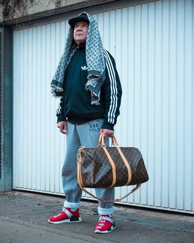 adidas và Louis Vuitton cũng hợp nhau phết đấy chứ.