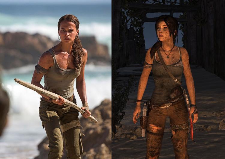 Sự tương đồng giữa phim và game.