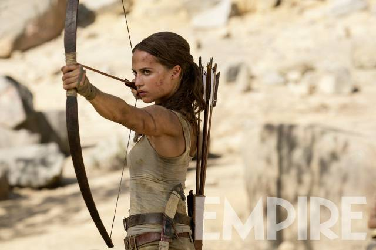 Bộ phim thương hiệu của Angelina Jolie  Tomb Raider tái khởi động với trailer kịch tính