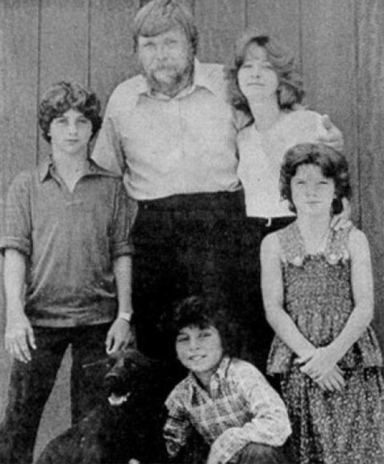 Gia đình George Lutz năm 1977.
