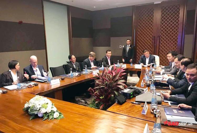 Lãnh đạo VFF họp ở Indoneisa vào sáng nay.
