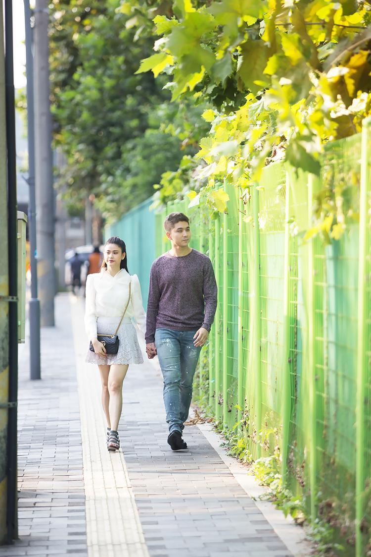 Trương Quỳnh Anh cho biết đã rất lâu hai vợ chồng cô mới có chuyến du lịch thú vị và ý nghĩa như vậy. Điều nữ diễn viên tâm đắc là nhờ chuyến đi mà họ có nhiều thời gian ở bên nhau sau thời gian làm việc bận rộn qua đó được dịp hâm nóng tình cảm, hiểu đối phương hơn.