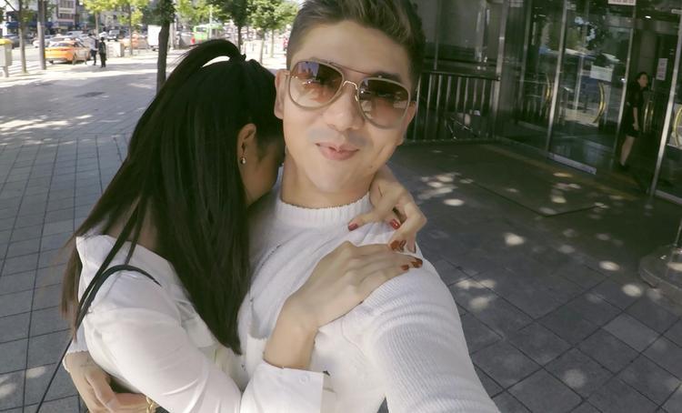 Tim  Trương Quỳnh Anh trốn con du lịch Hàn Quốc hâm nóng tình cảm