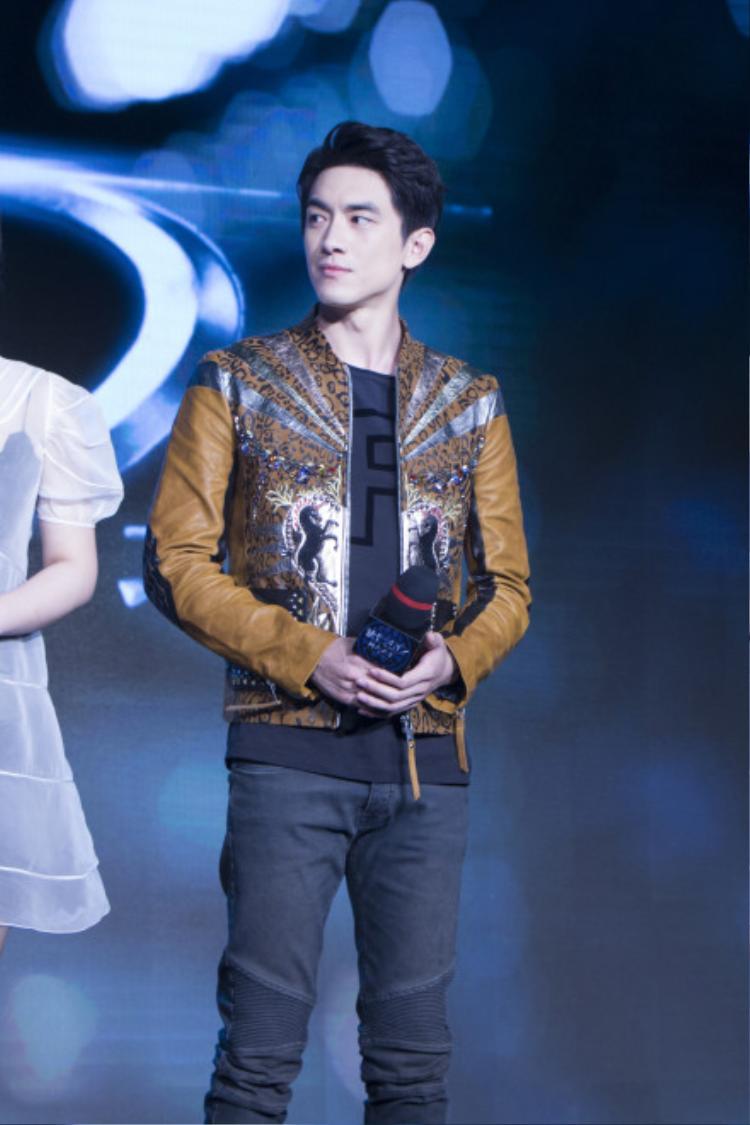 Lâm Canh Tân cũng góp mặt với vai diễn Sa Đà Trung
