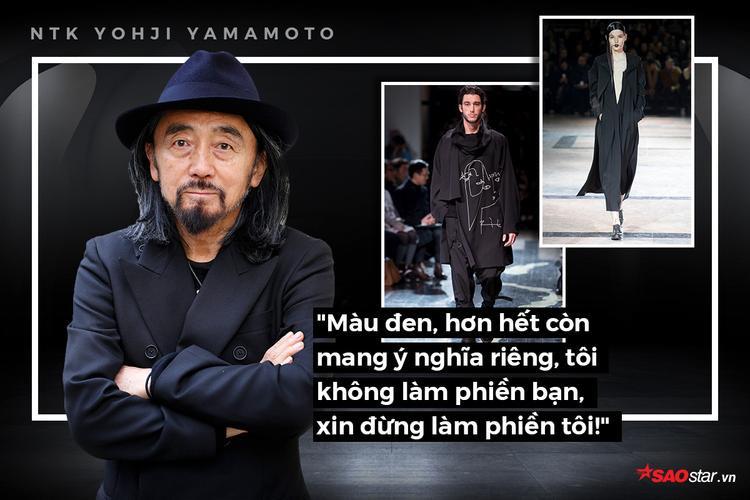 NTK Yohji Yamamoto và phương châm thiết kế: Tôi không làm phiền bạn, xin đừng làm phiền tôi!