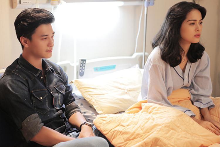 """Huỳnh Anh - Hạ Vi vướng nghi án hẹn hò """"phim giả tình thật"""" sau khi tham gia MV của Đăng Khôi."""