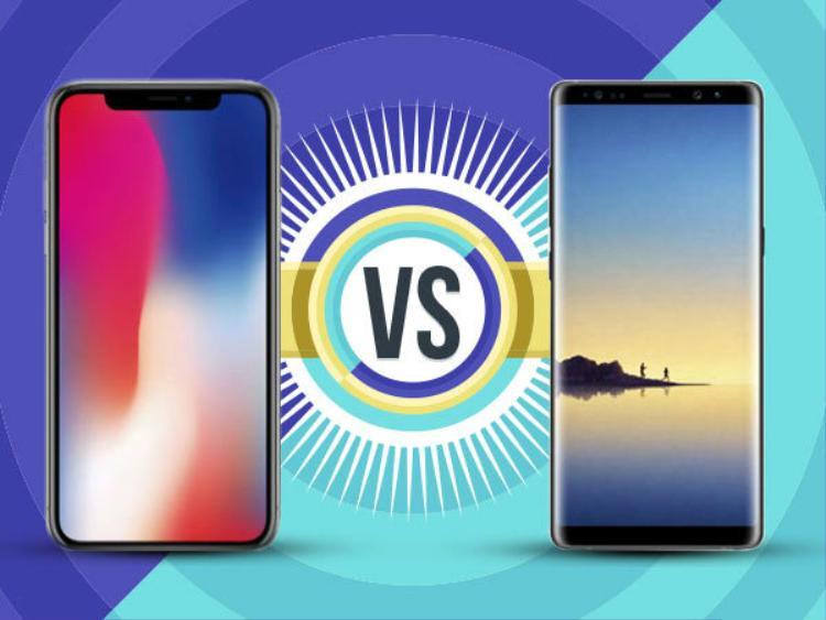 Cuộc chiến smartphone màn hình tràn viền trở nên ngày càng sôi nổi với sự tham gia của Apple và Samsung.