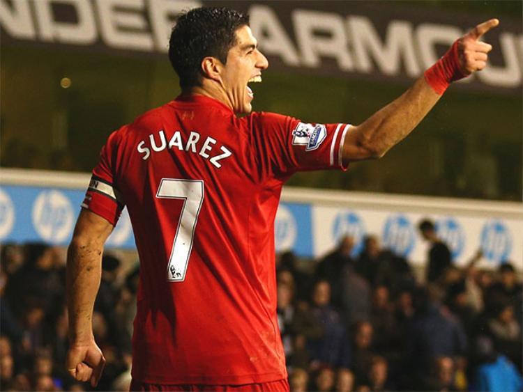 Luis Suarez từng là mục tiêu của một lời đề nghị gây sốc.