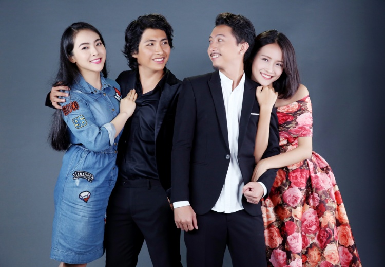 Dàn diễn viên: Phương Khánh - Minh Khang - Hứa Minh Đạt - Trương Mỹ Nhân.