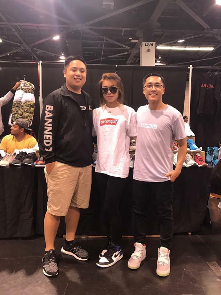 Nick Nguyen - Jillian - Mikah Tran (từ trái sang).