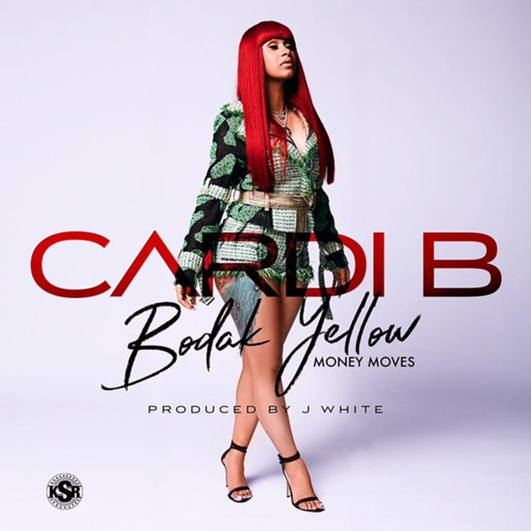 Cardi B, hiện tượng mới của làng Hiphop thế giới, đang gặt hái được rất nhiều thành công với ca khúc Bodak Yellow.
