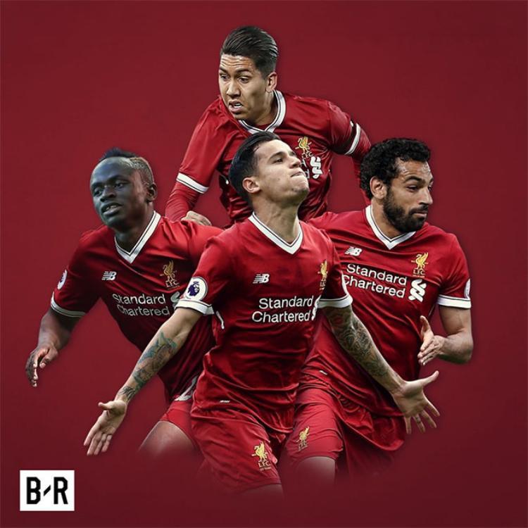 'Bộ tứ nguyên tử' của Liverpool mùa này.