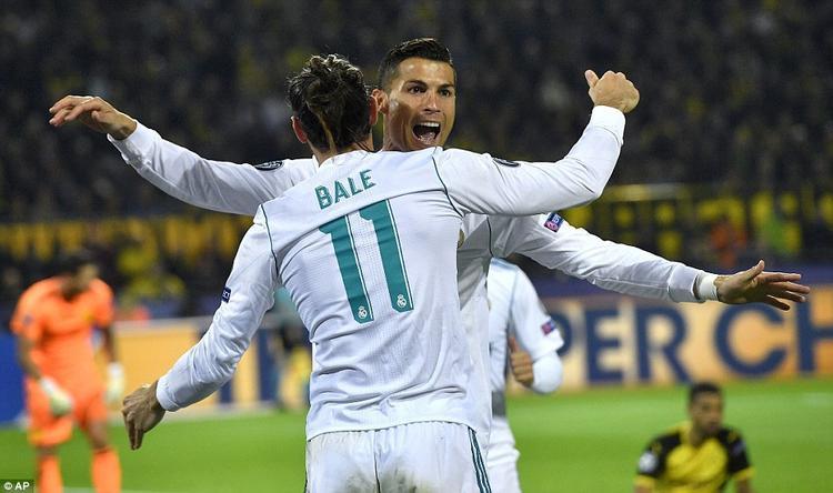 Song tấu Bale  Ronaldo tỏa sáng, Real Madrid lần đầu chiến thắng trên chảo lửa Signal Iduna Park