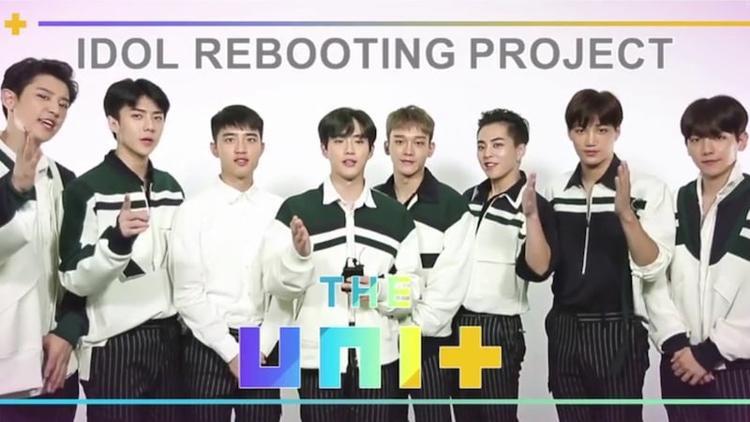 EXO đã kêu gọi khán giả hãy đón xem The Unit để ủng hộ cho các thần tượng có cơ hội hồi sinh.