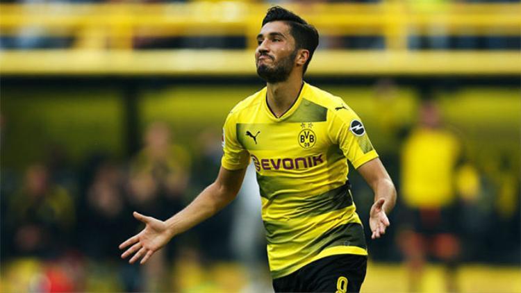 Hiện là trụ cột Dortmund, Nuri Sahin không được tận hưởng niềm vui như thế này khi gặp lại Real.