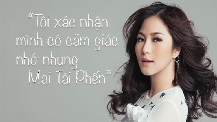 Hương Tràm thừa nhận có cảm giác nhớ nhung thầy giáo mưa Mai Tài Phến, nhưng sợ yêu vì áp lực dư luận