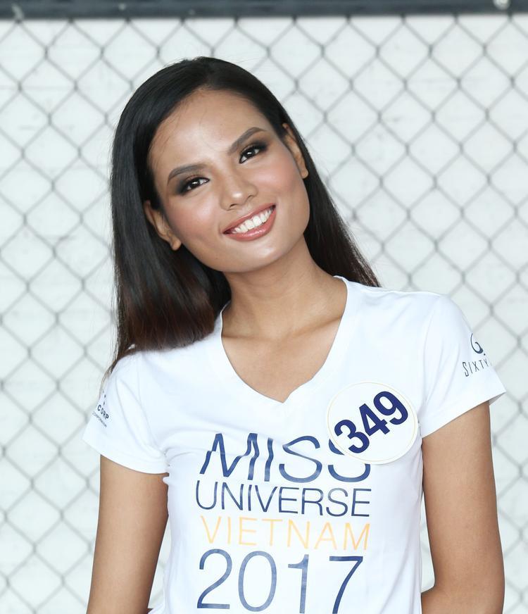 Tiêu Ngọc Linh mang đến Hoa hậu Hoàn vũ Việt Nam 2017 một hình ảnh khác so với những gì khán giả đã biết về cô trước đó.