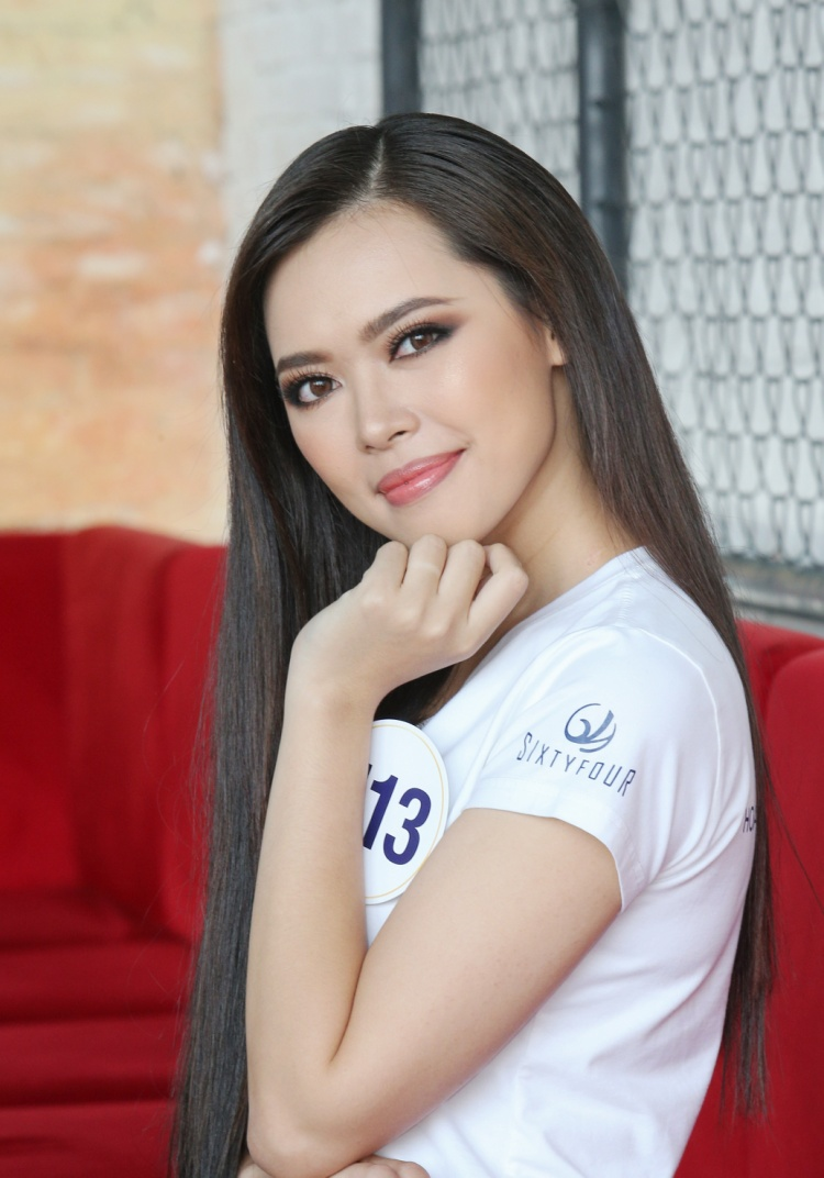 Bùi Thanh Hằng đang học Thạc sĩ trường Đại học Xây Dựng, chuyên ngành Kiến trúc. Người đẹp Hà Nội mong muốn trở thành giảng viên trong tương lai nhưng trước mắt, cô muốn khẳng định bản thân qua cuộc thi Hoa hậu Hoàn vũ Việt Nam 2017.