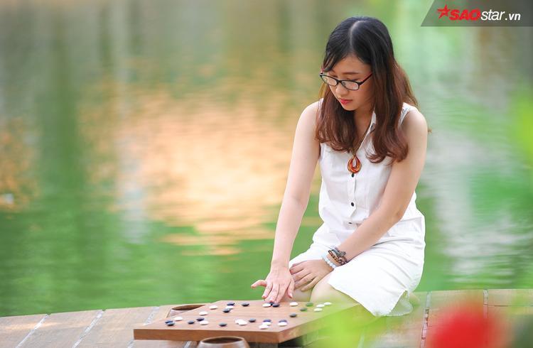 """Không chỉ là một VĐV tài năng, Tâm Anh còn gây chú ý ở các giải đấu mình tham dự bởi gương mặt khả ái của mình. Cô được mệnh danh là """"hoa khôi làng cờ"""" Việt Nam."""