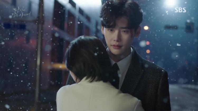 Giấc mơ của Hong Jooở phầnđầu phimđã thành sự thật khi cô chủđộng tiến tớiôm Jae Chan.