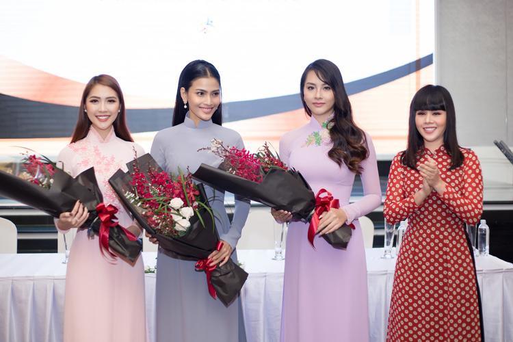Trước thềm Miss Intercontinental 2017, Tường Linh hạn chế nhận show nhưng vẫn tích cực với hoạt động thiện nguyện